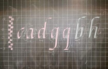 Corso di Calligrafia con Paola Robbe